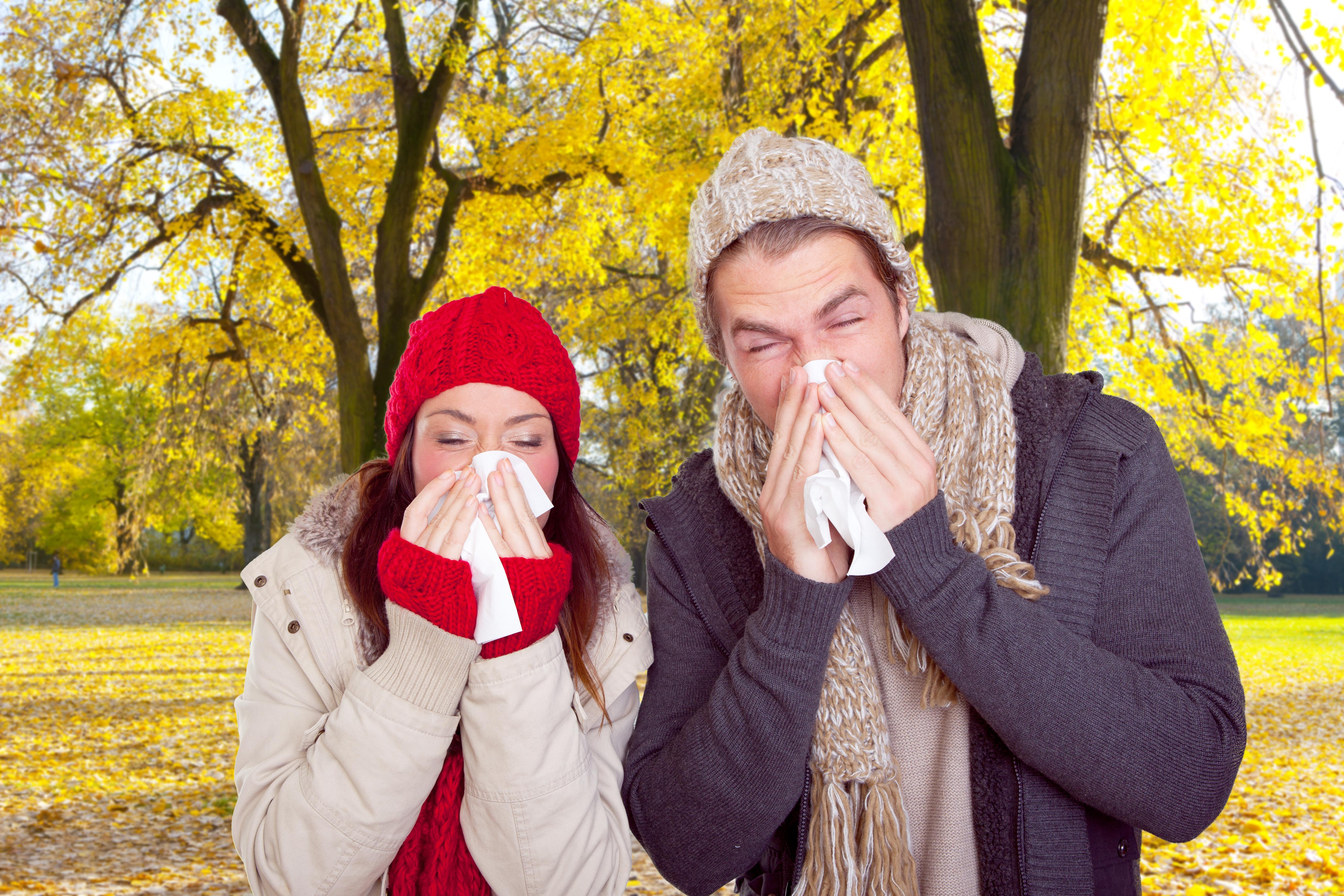 Ein grippaler Infekt kann sich schnell verbreiten © Fotowerk - Fotolia.com